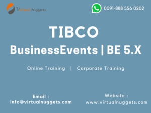 TIBCO BE BusinessEvents Online Training